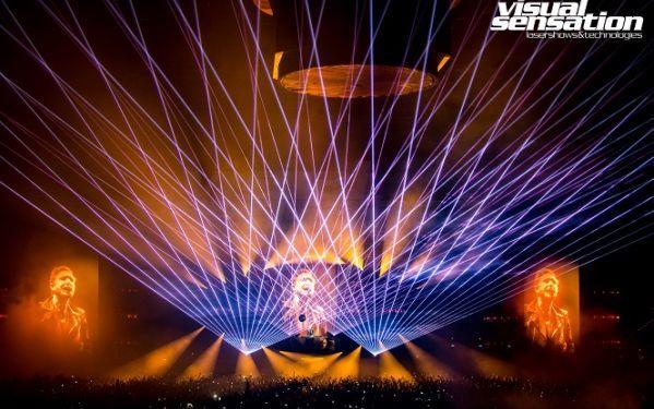 Pokazy laserowe dofinansowane przez Unię Europejską